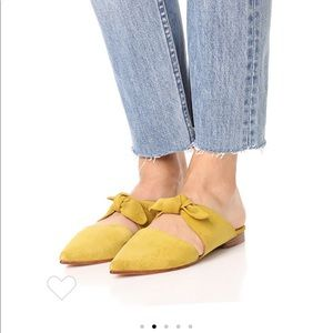 Ulla Johnson lilo Babouche flats in honey